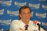 Detroit Head Coach Flip Saunders talks at a post game conference.jpg