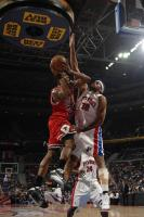 Rasheed Wallace challenges Tyrus Thomas' shot.jpg
