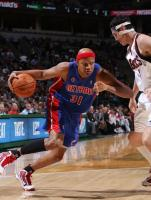 Charlie Villanueva drives the baseline against the Bucks.JPG